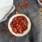 Roasted chili almonds - healthy and easy low carb snack --> MyCopenhagenKitchen.com