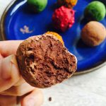 Healthyfied chocolate truffles with avocado --> MyCopenhagenKitchen.com