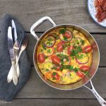 Easy vegetable omelet - perfect weekend breakfast --> MyCopenhagenKitchen.com