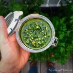 Easy recipe for parsley pesto - both healthy and cheap --> MyCopenhagenKitchen.com